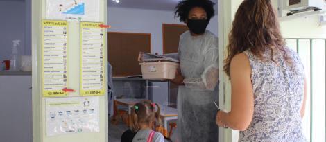 Aulas presenciais iniciam para crianças da Educação Infantil e anos iniciais do Ensino Fundamental