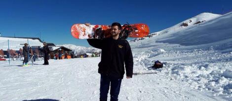 Em Intercâmbio, aluno da IENH aproveita inverno chileno