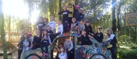 Estudantes do Ensino Fundamental da Unidade Pindorama visitam o Parque Caminho das Serpentes