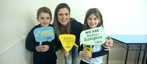 Famílias participam do primeiro encontro dos Monitores Ecológicos