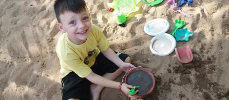 Interação com a natureza e brincadeira significativa no Nível 4A da Educação Infantil